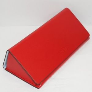 FENDI RED HARD SUNGLASSES GLASSES CASE